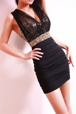 Vestido corto brillate Night Wish Exotic Princess